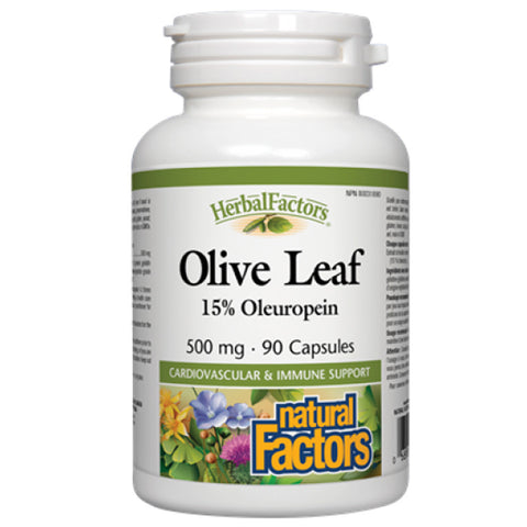 Natural Factors Olive Leaf Extract