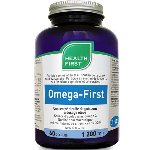 Omega-First Super Strength Concentrate Fish Oil (3 Sizes Available)