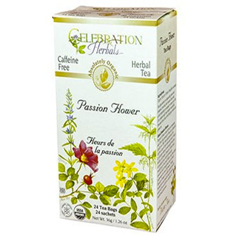 Passion Flower Tea Organic 24TB