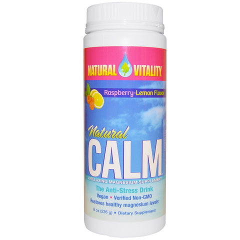 Natural Vitality Natural Calm Raspberry Lemon