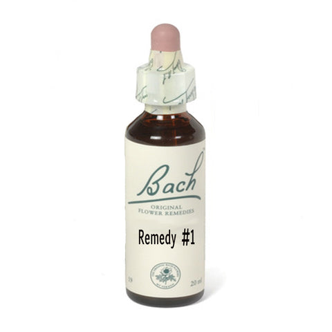Bach Flower Remedy School Anxiety Blend (2 Blends Available)
