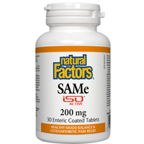 Natural Factors SAMe IsoActive 200 mg