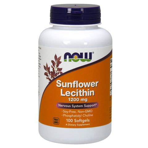 NOW Sunflower Lecithin