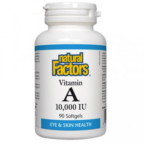 Natural Factors Vitamin A 10,000 IU
