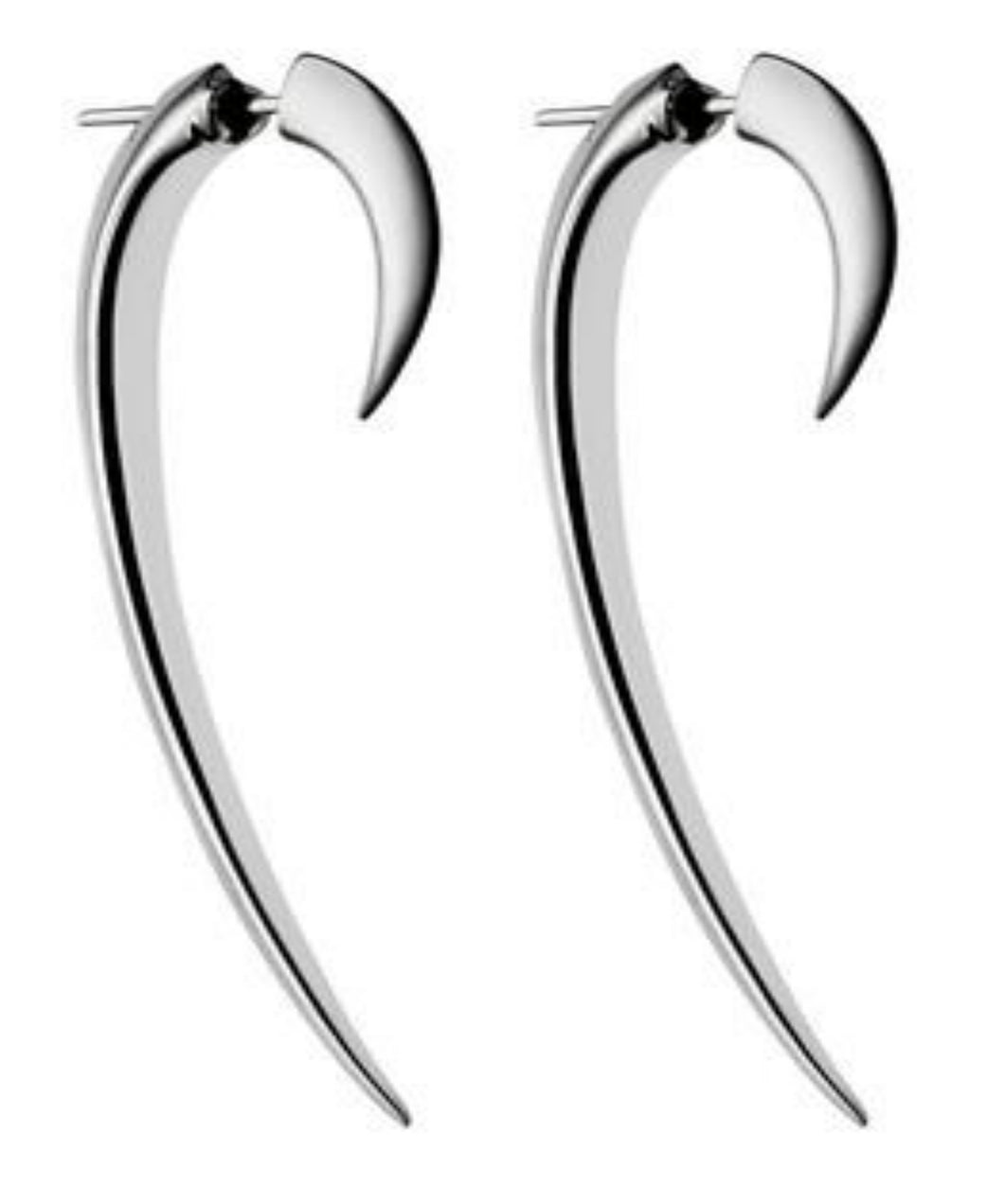 Shaun Leane Sterling Silver Large Hook Earrings