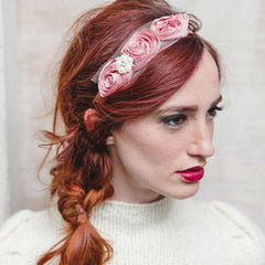 "Jolie USA Claire Headband ""To Make You Feel Pretty"""