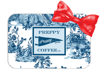 Preppy Coffee Gift Card