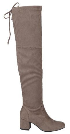 Without Somebody Boots: Taupe