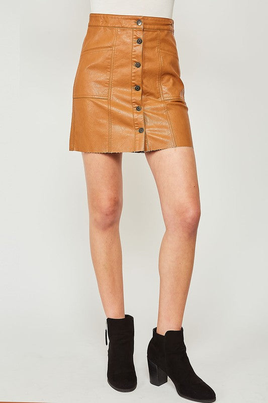 All Your Life Skirt: Camel
