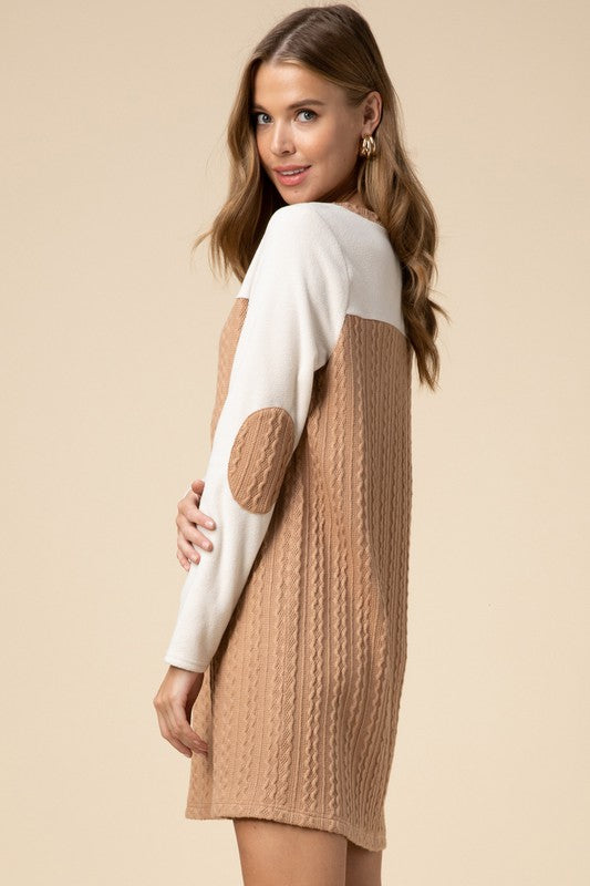 Love Me Baby Dress: Taupe