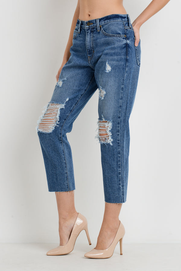Take Me To Hollywood Jeans: Medium Denim