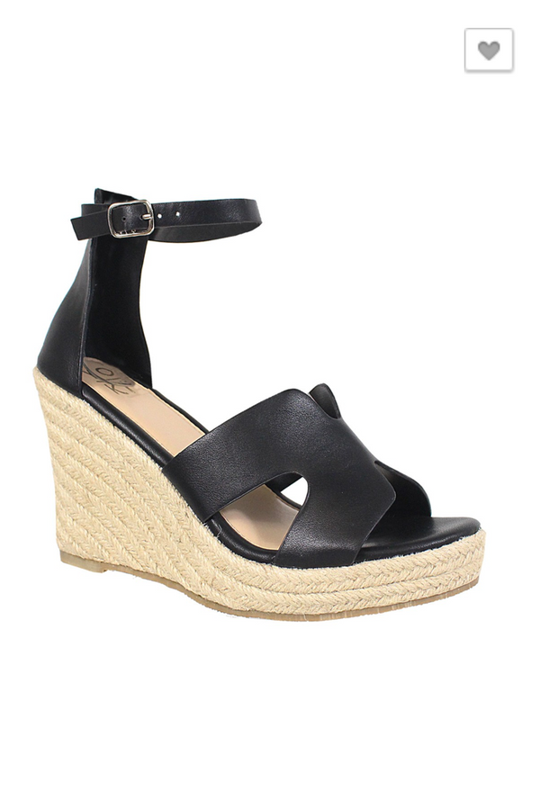 Old Town Road Wedges: Black
