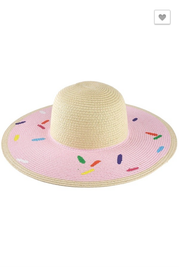 Donut Worry Hat: Pink