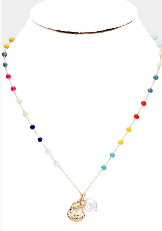 By The Beach Necklace: Multi