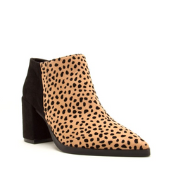Beautiful People Booties: Leopard
