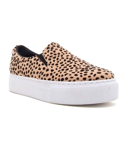 Treat You Better Sneakers: Leopard