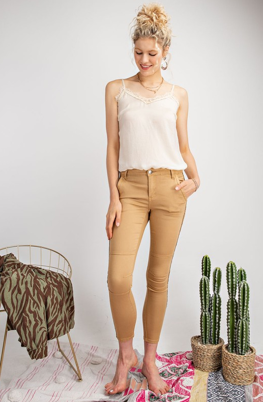 Writing On The Wall Jeans: Khaki
