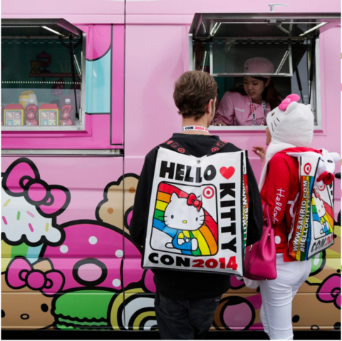 Hello Kitty Cafe Trucks