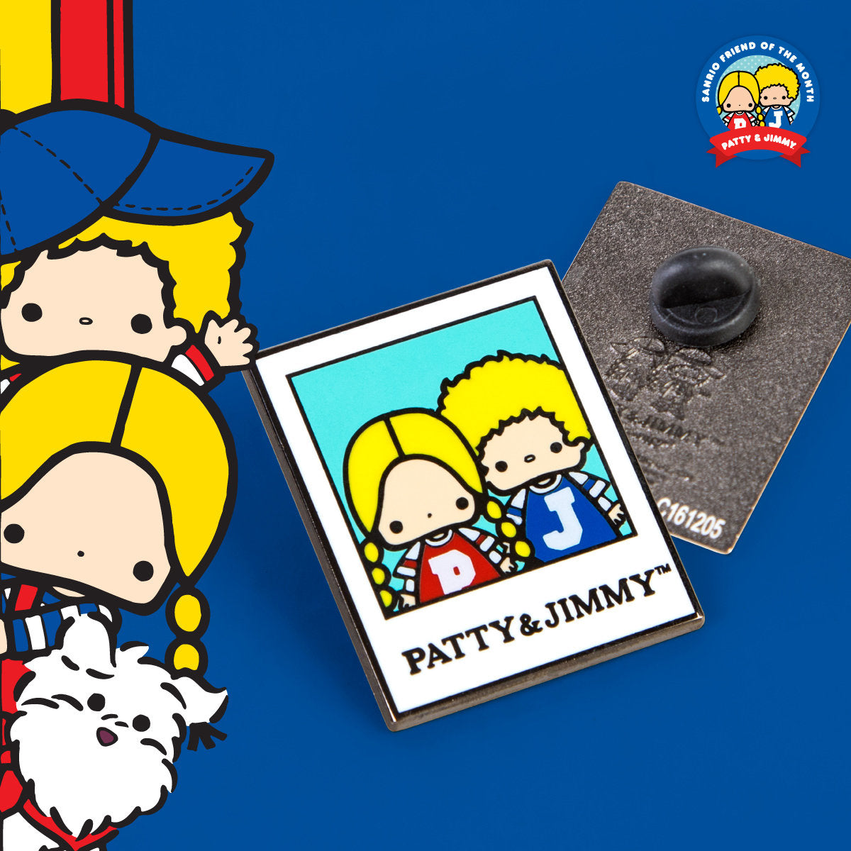Sanrio Friend of the Month Patty & Jimmy Collectible Pin