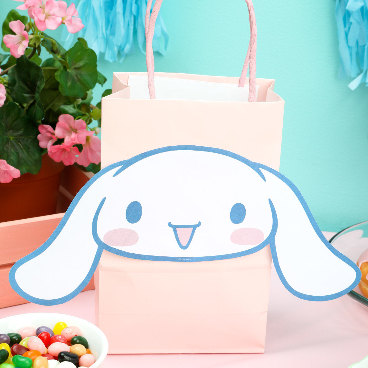 Cinnamoroll Cut-Out Decoration - Goodie Bag