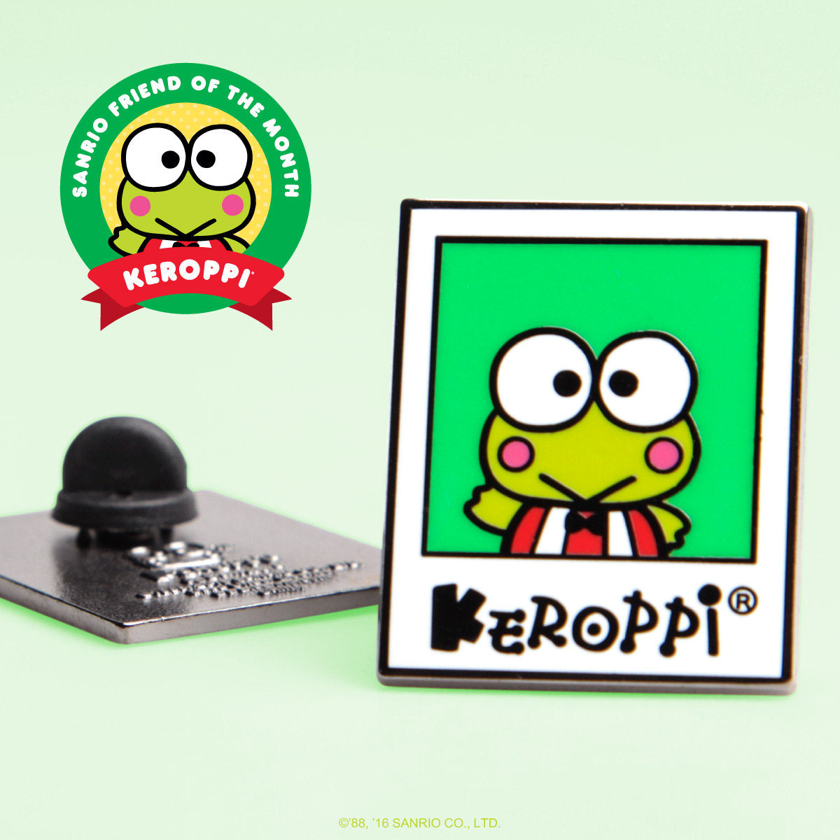Sanrio Friend of the Month Collector Pin - Keroppi