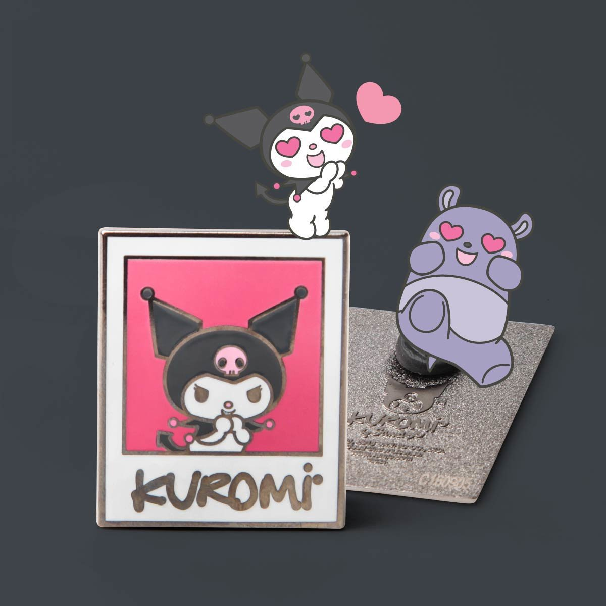 Sanrio Friend of the Month Pin - Kuromi