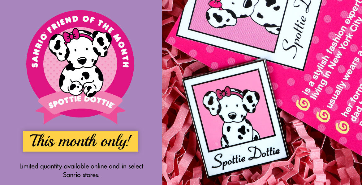 Sanrio Friend of the Month - Spottie Dottie