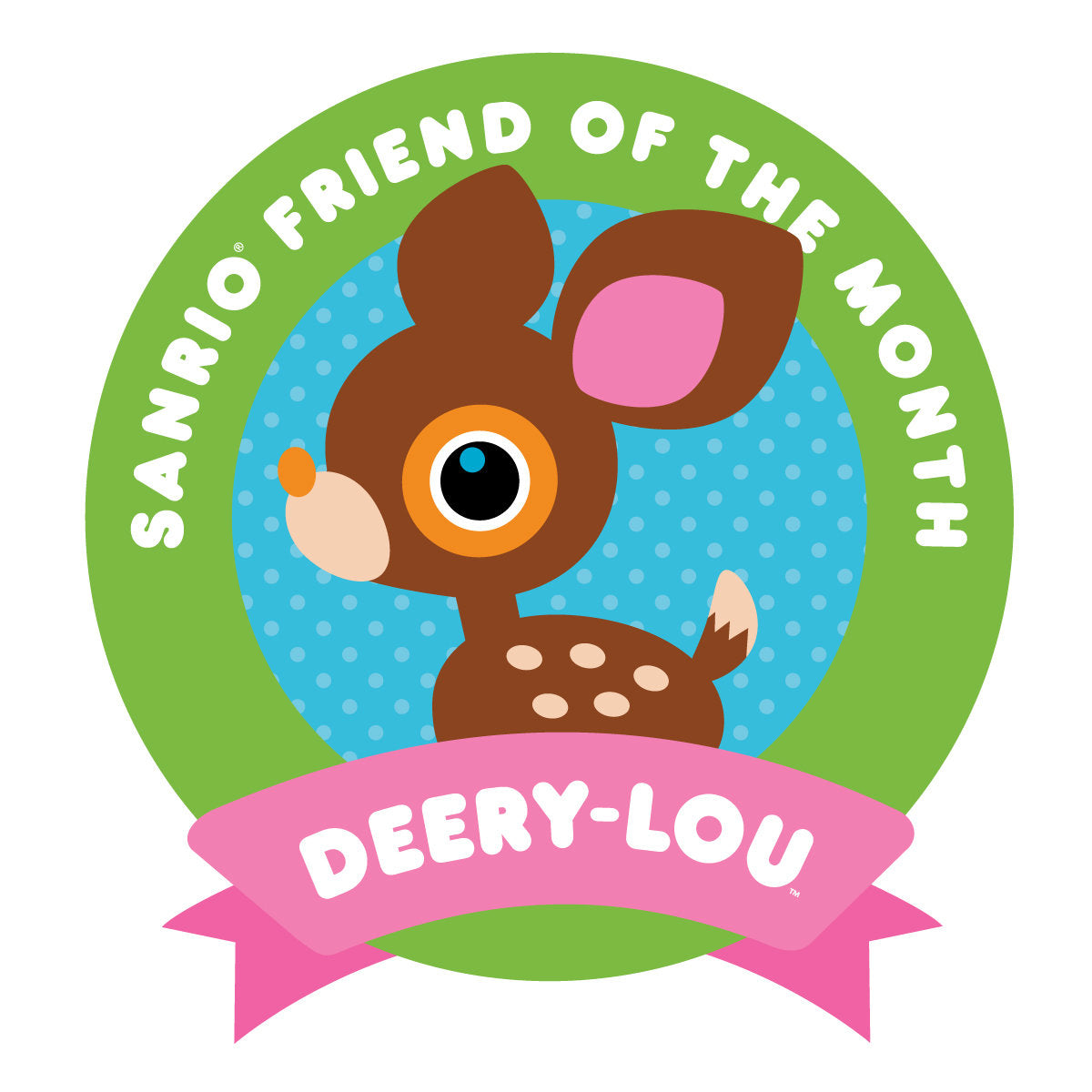 Sanrio Friend of the Month - Deery-Lou