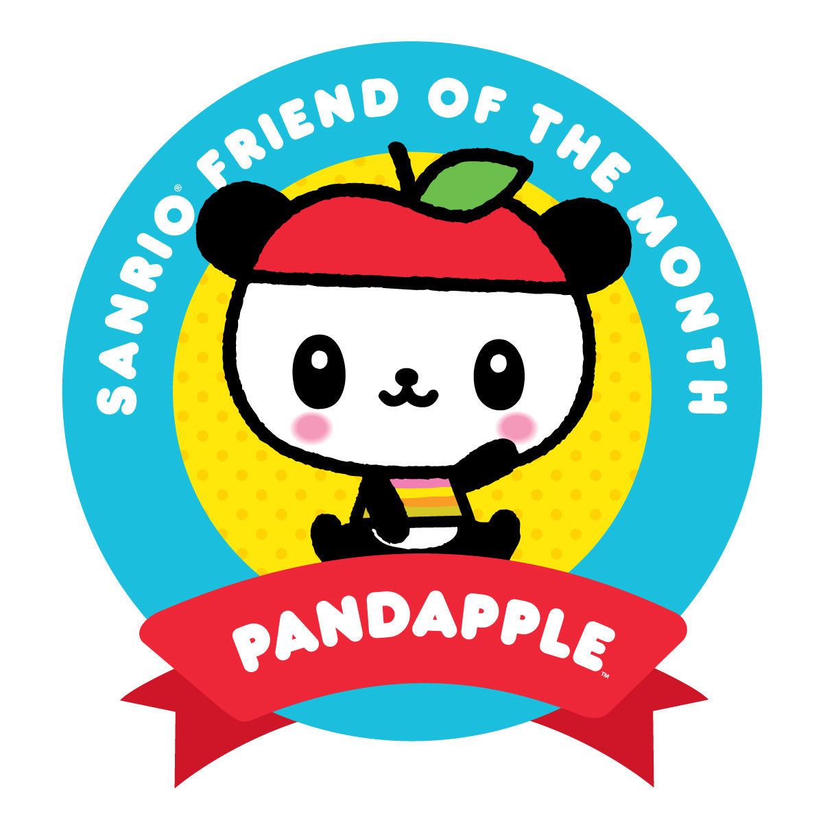 Sanrio Friend of the Month - Pandapple