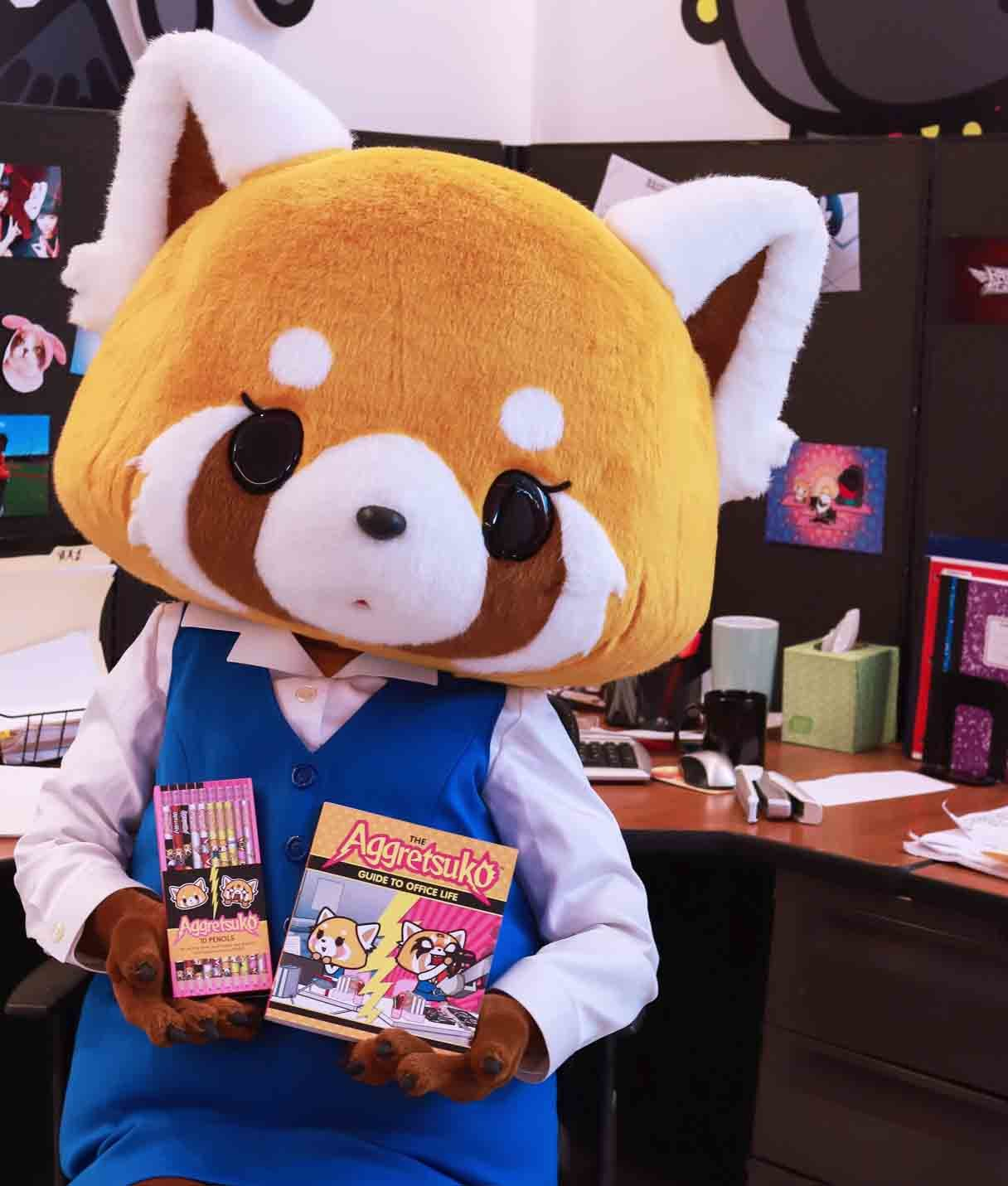 'The Aggretsuko Guide to Office Life'