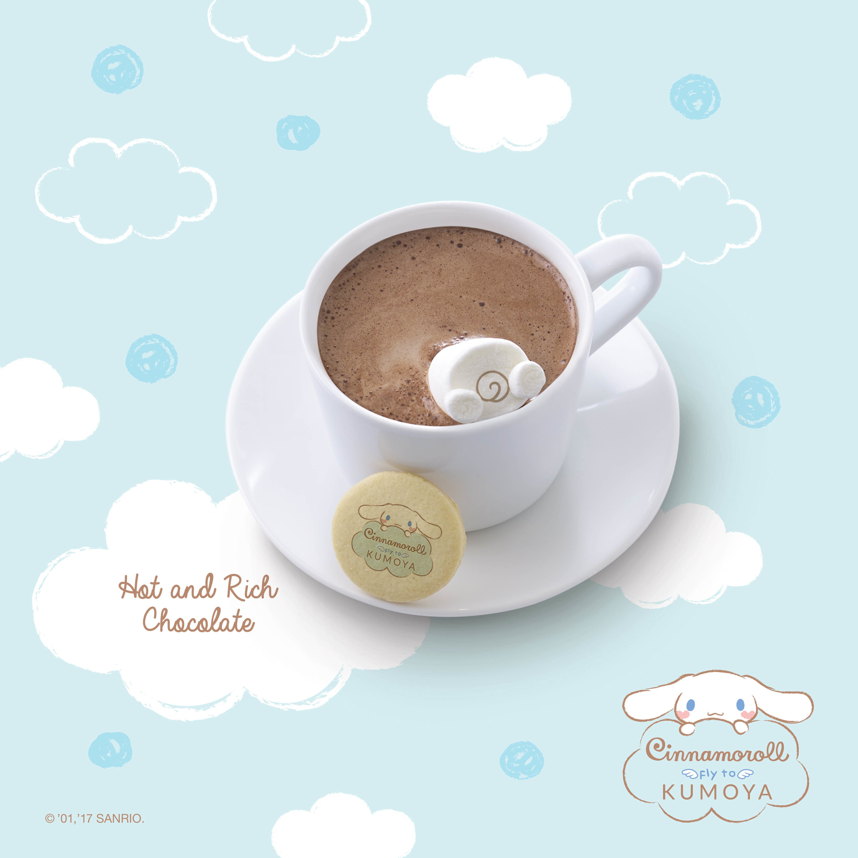 Cinnamoroll Pop-Up Cafe Singapore