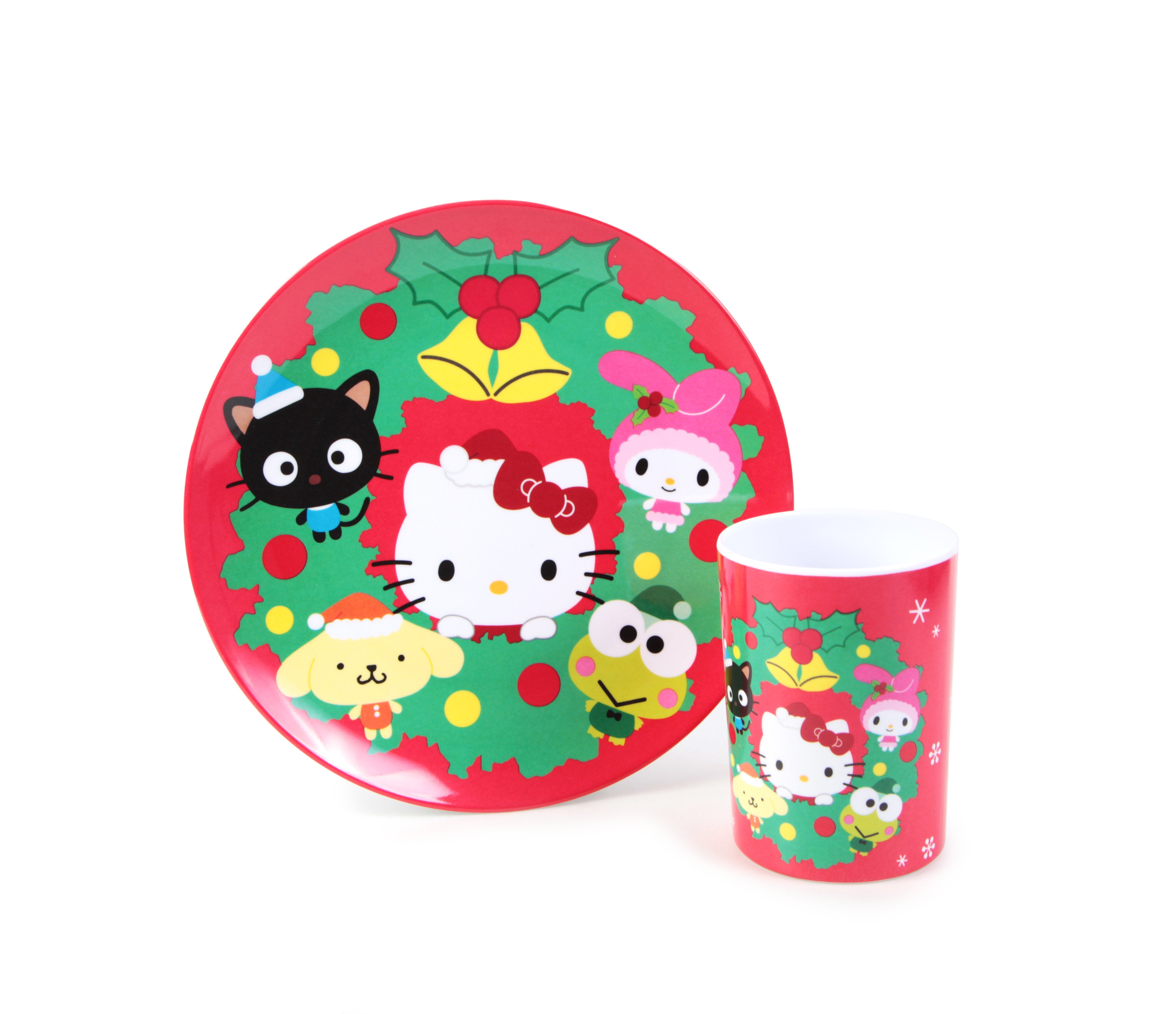 Sanrio Santa Holiday Milk and Cookies