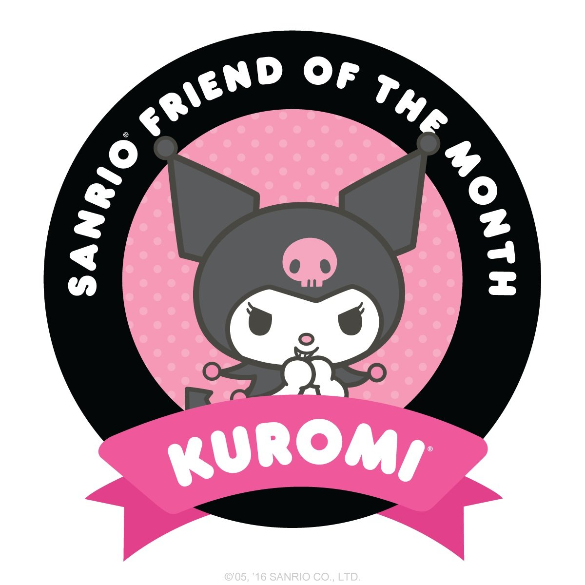 Sanrio Friend of the Month - Kuromi