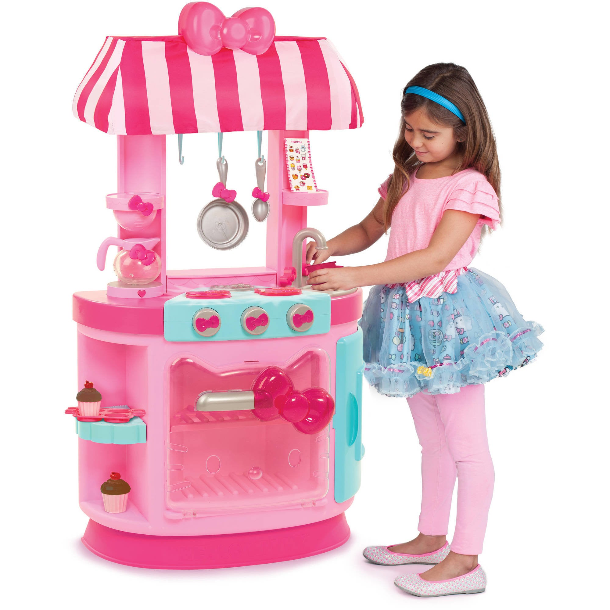 Kitchens, Playfood & Housekeeping Hello Kitty Kitchen Cafe