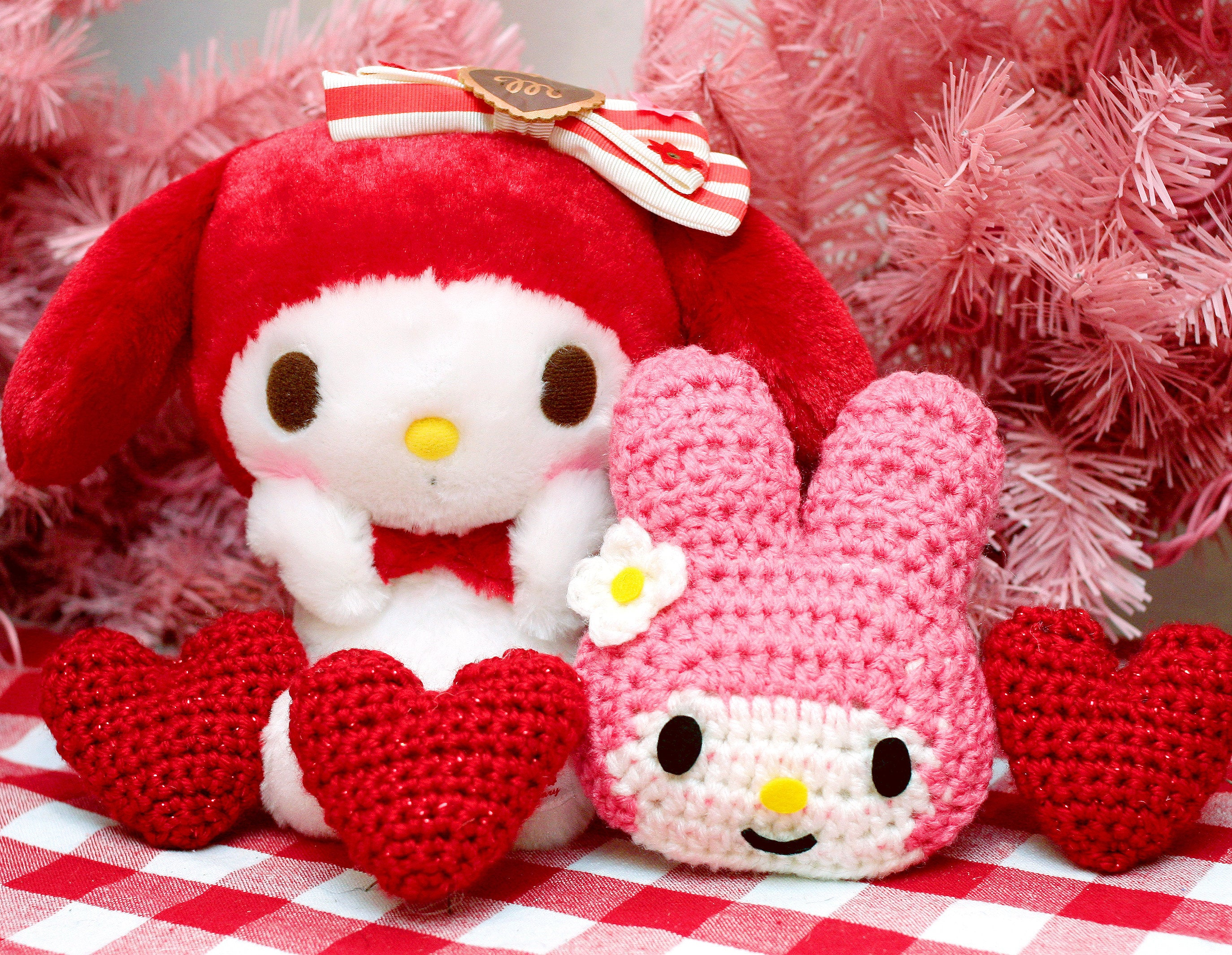 My Melody Applique Craft with Twinkie Chan