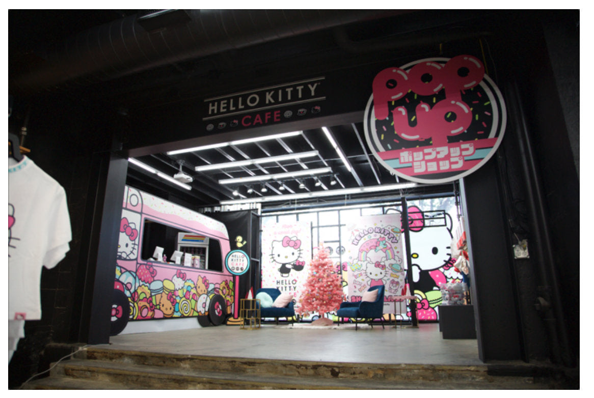 Hello Kitty Pop-Up Cafe at Shoe Palace Little Toyko