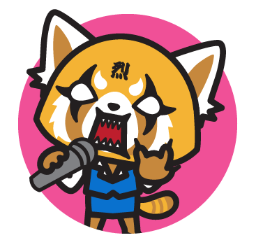 Go to the Aggretsuko character page