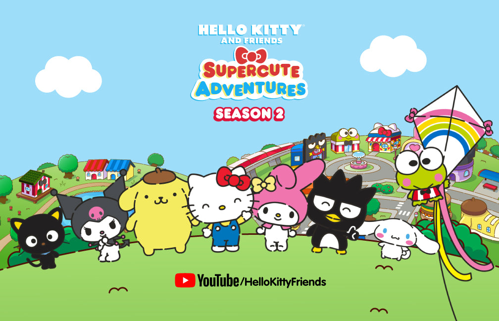 Hello Kitty and Friends Supercute Adventures is back with new adventures and new friends...Cinnamoroll and Chococat! Watch the brand new season now!