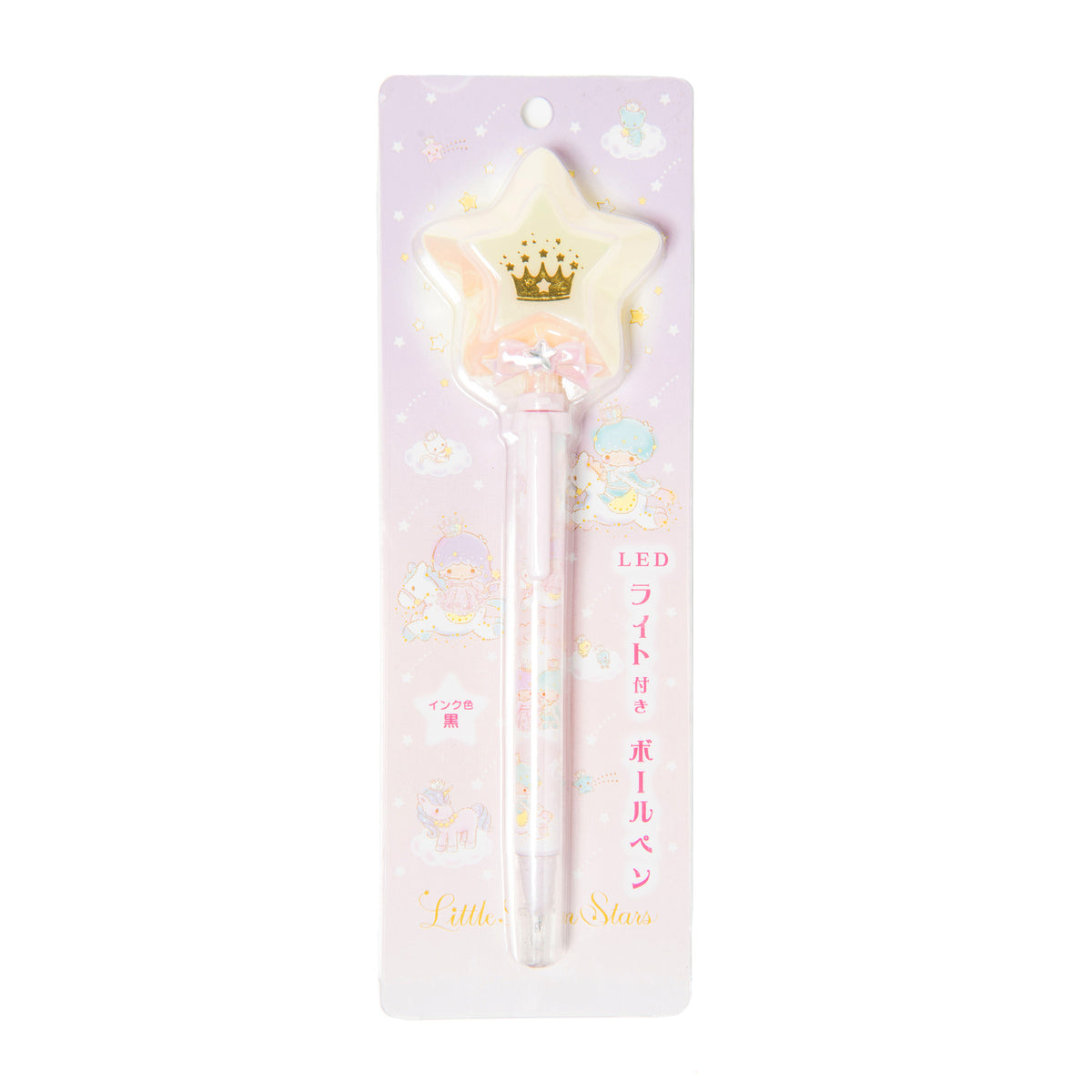 Little Twin Stars Crown LED Pen