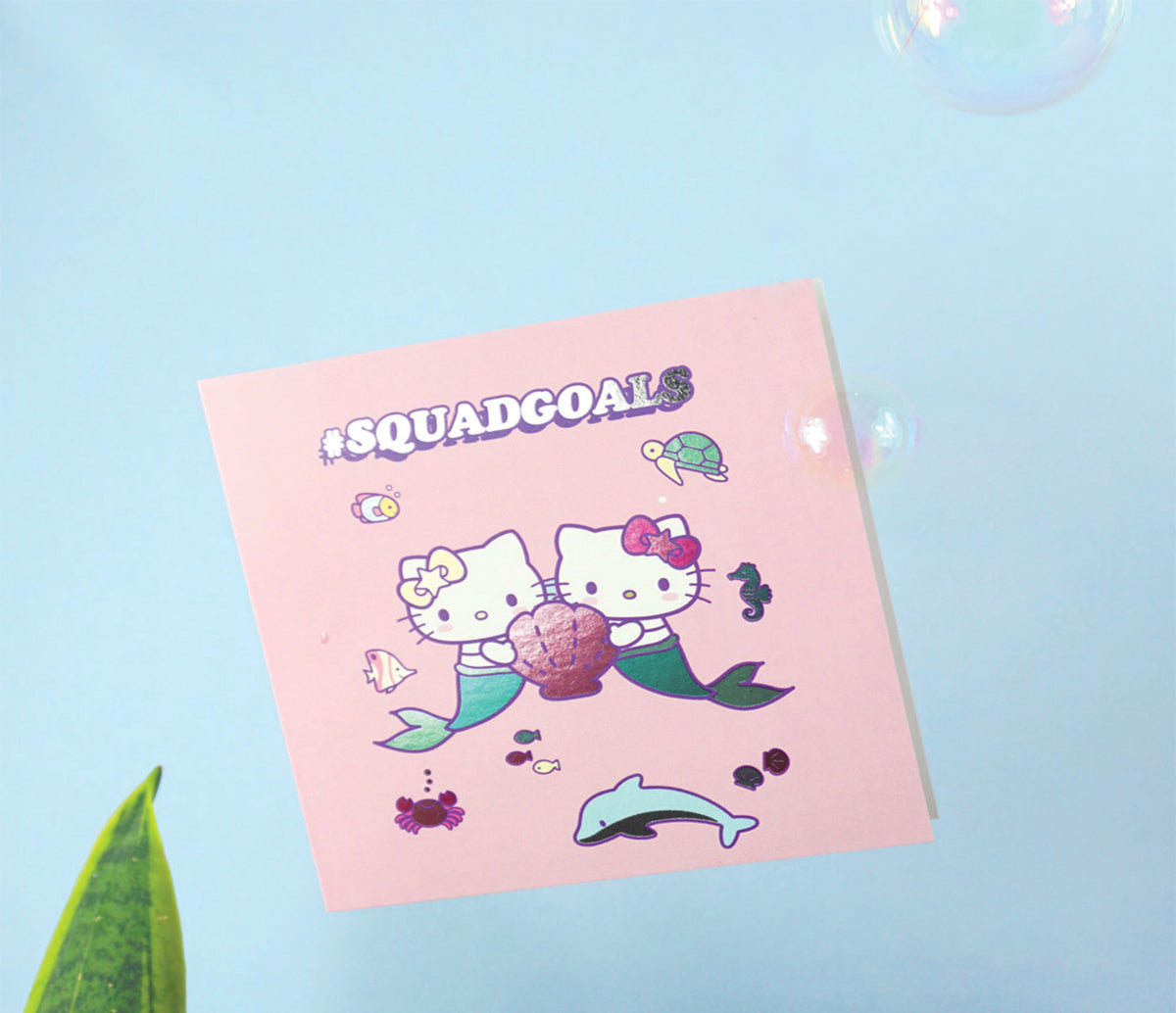 Jolly Awesome x Hello Kitty Greeting Card: Squad Goals