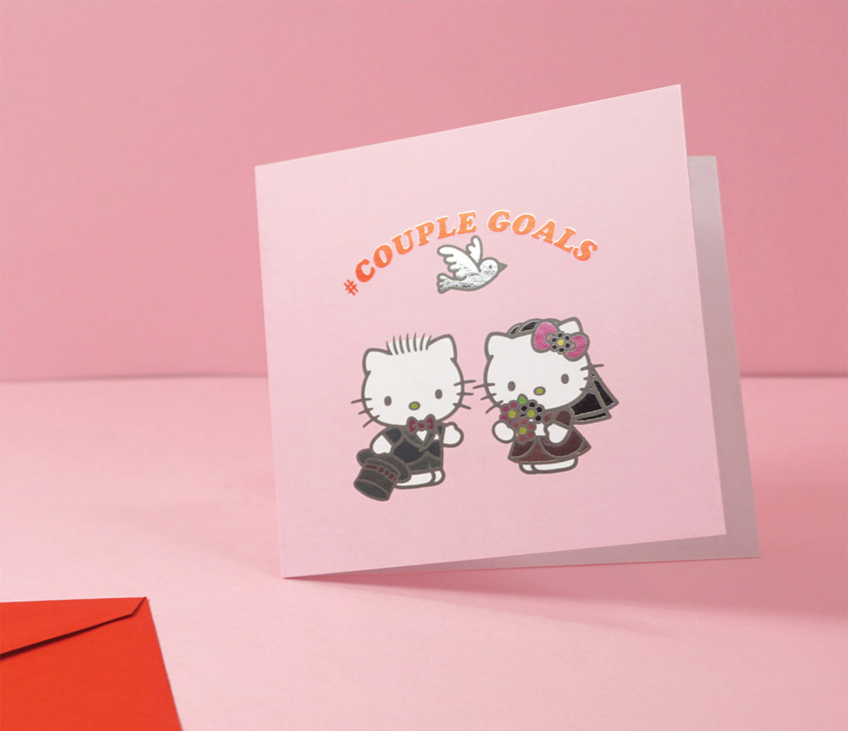 Jolly Awesome x Hello Kitty Greeting Card: Couple Goals