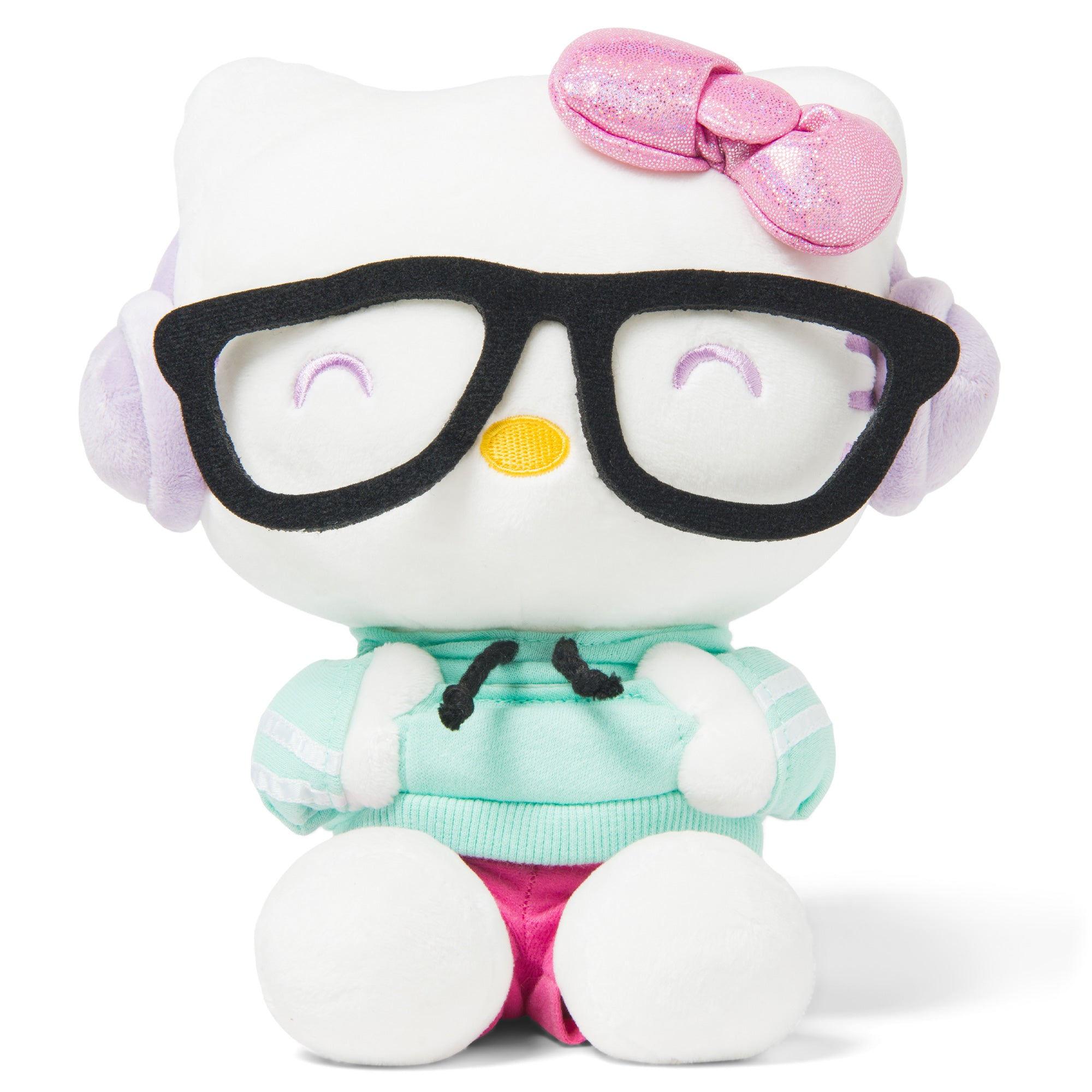 "Hello Kitty Supercute Nerd 9"" Plush"