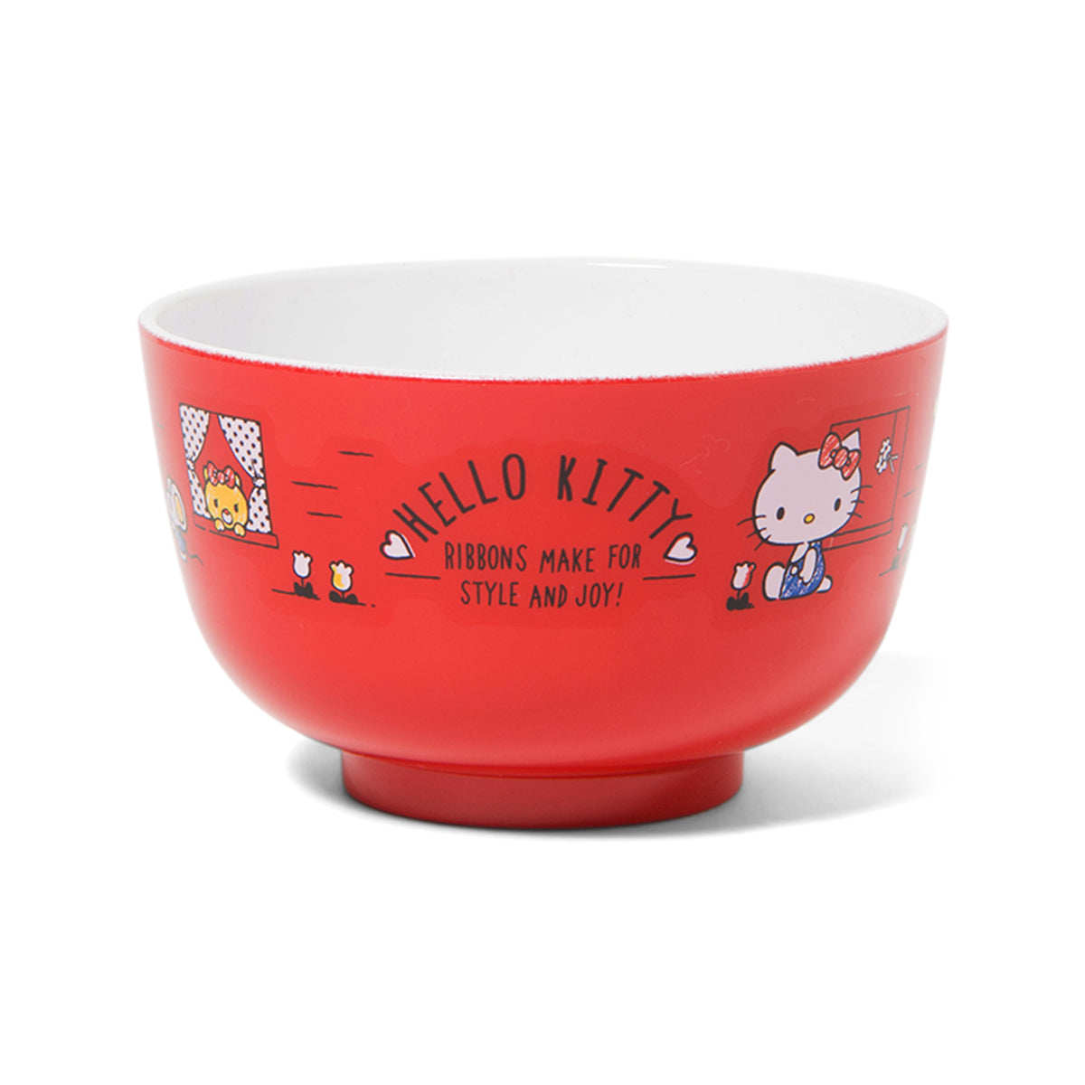 Hello Kitty Red Windows Bowl