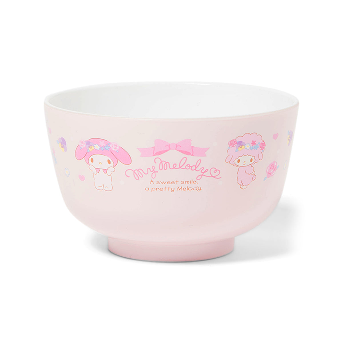 My Melody Pink Floral Bowl