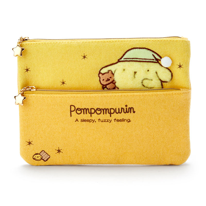Pompompurin Sleepy Collection Flat Pouch