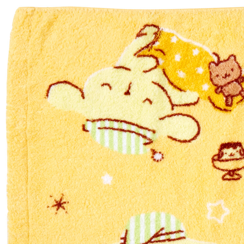 Pompompurin Sleepy Collection Bath Towel