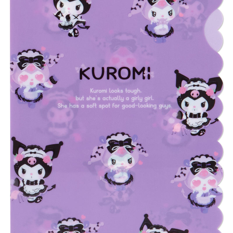 Kuromi Tsundere Cafe Clear File Set