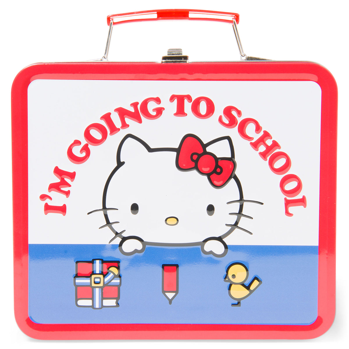 Hello Kitty I'm Going to School Lunch Box