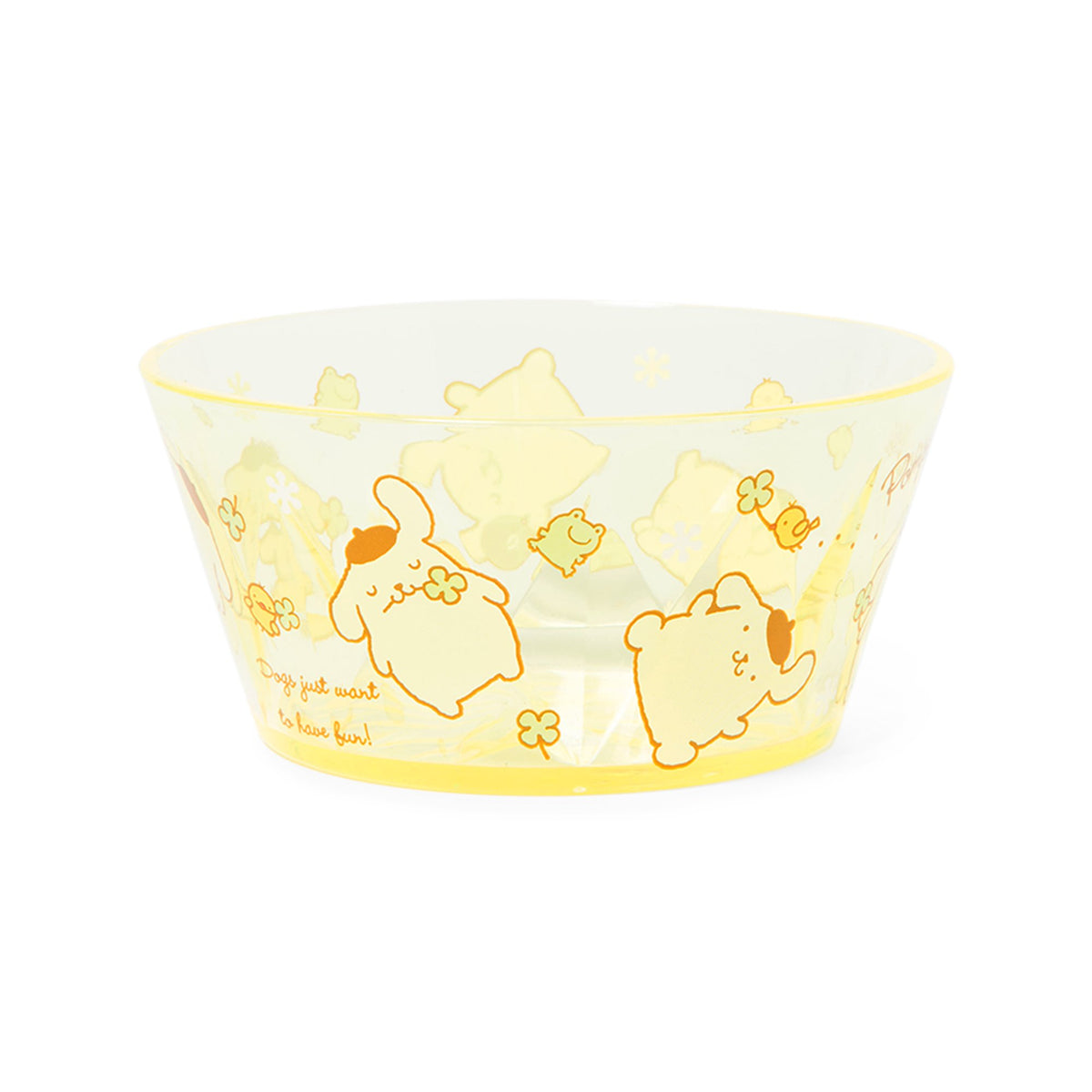 Pompompurin Clover Friends Graphic Bowl