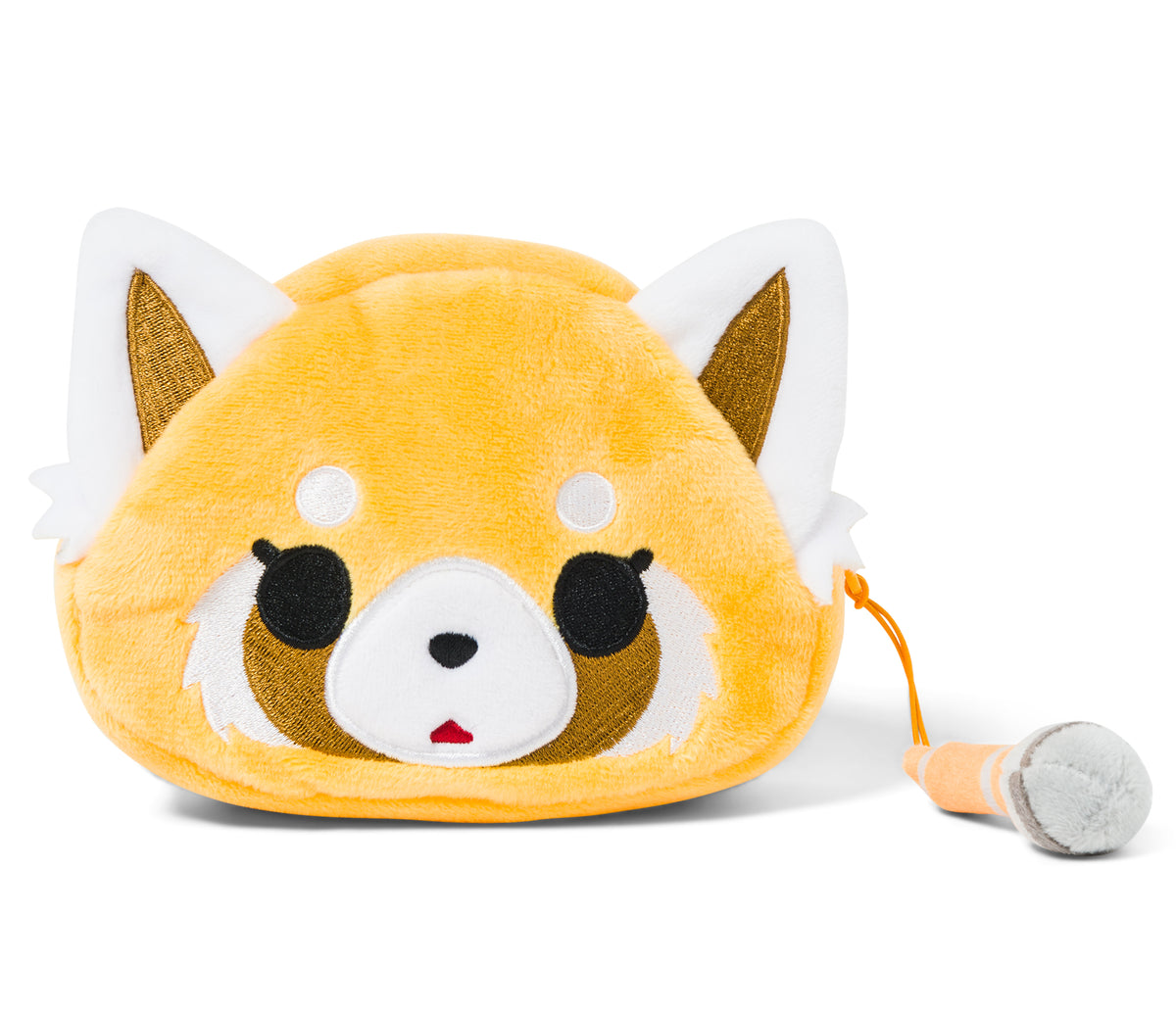 Aggretsuko Plush Coin Purse Karaoke